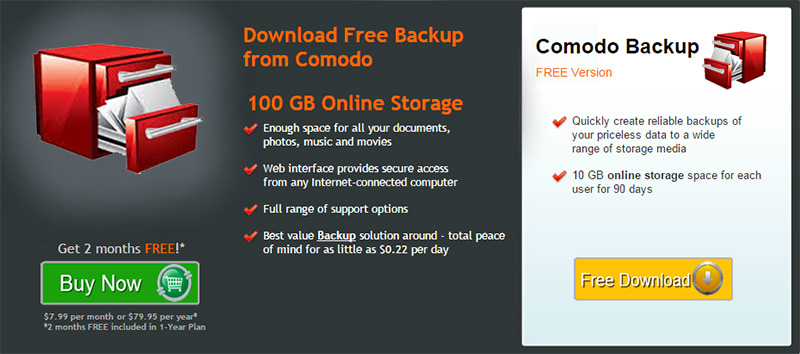 comodo-backup-pricing