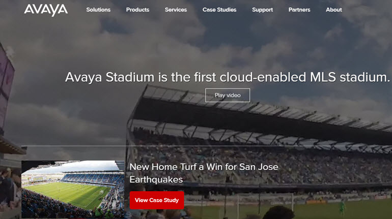 Avaya Platform is about to offer a cloud based wired wireless network support