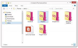 odrive-all-cloud-folders